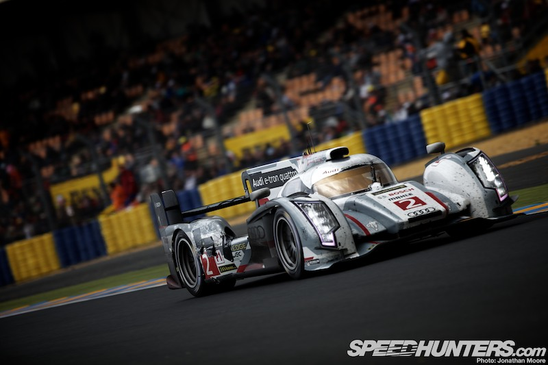 In The Moment: Audi Victory #12 At Le Mans