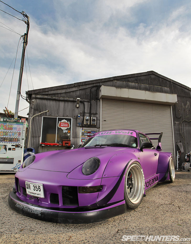 Nakai Goes Turbo: The Rwb Rotana