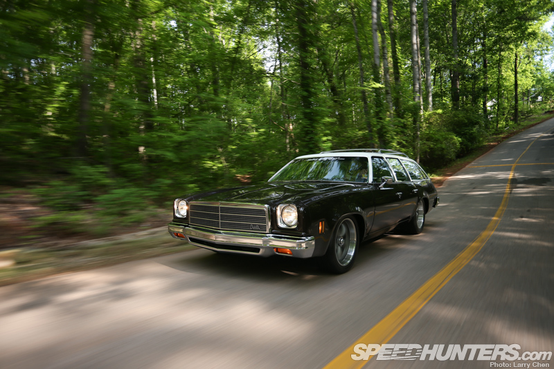 Haulin' Ass & Groceries: Holley's Chevelle Wagon