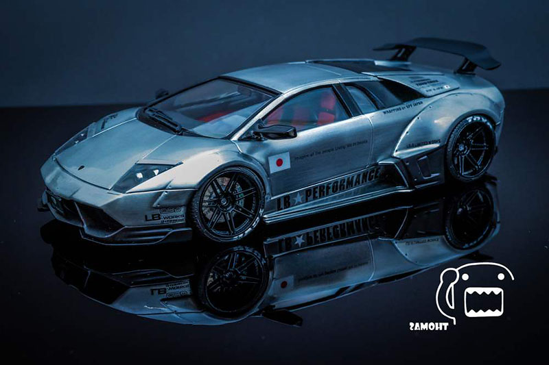 Liberty Walk Murcielago In Miniature