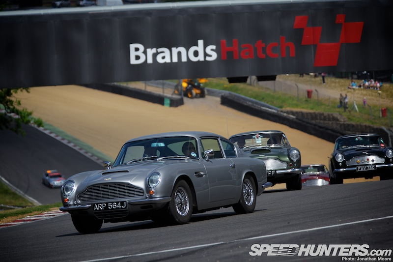Aston's Centenary Celebrations At Brands Hatch