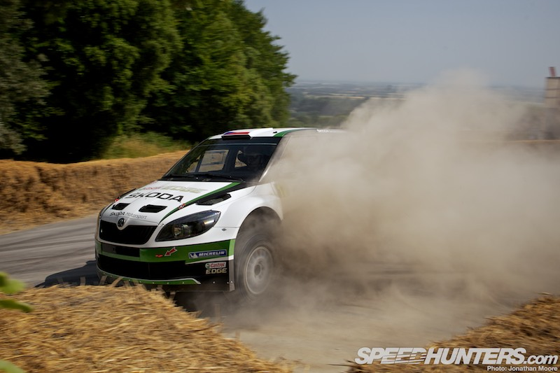Enter Planet Dust: The Fos Rally Stage