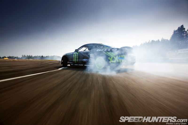 Because Vaughn Gittin Jr: Hitting Up Gatebil