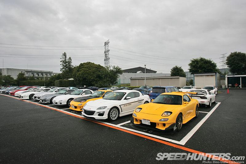 Parking Lot Hunting @ The Mazda TuningFesta