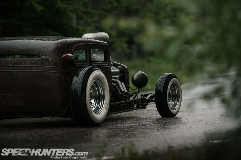 Swamp Rat Turned Hot Rod: The Rusty Demon