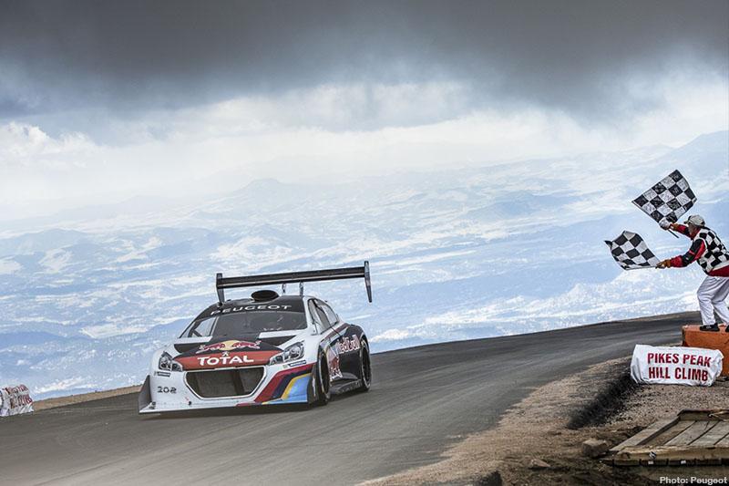 Loeb's Peugeot Pulverises PikesPeak