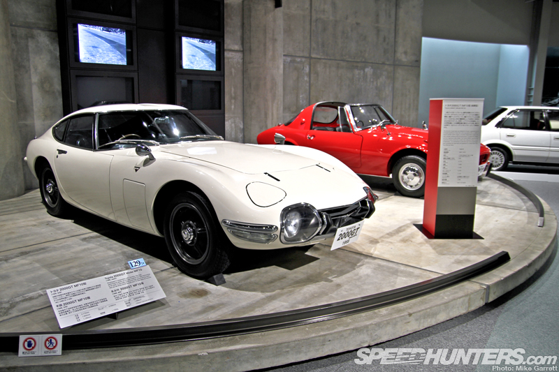 75 Years Of Toyota On Display