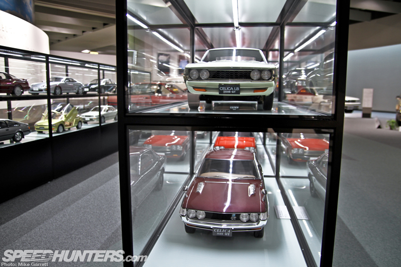 Browsing Toyota's Secret 1:5 Scale Collection