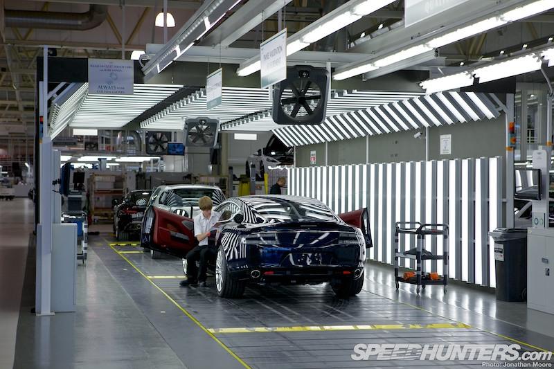 Aston Martin At Gaydon The Dream Factory Speedhunters