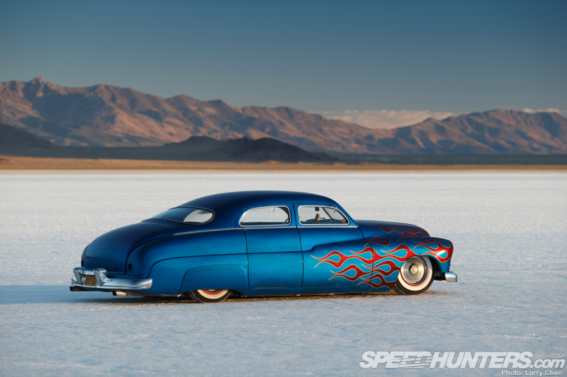 Sedan On The Salt: A Mercury Kustom