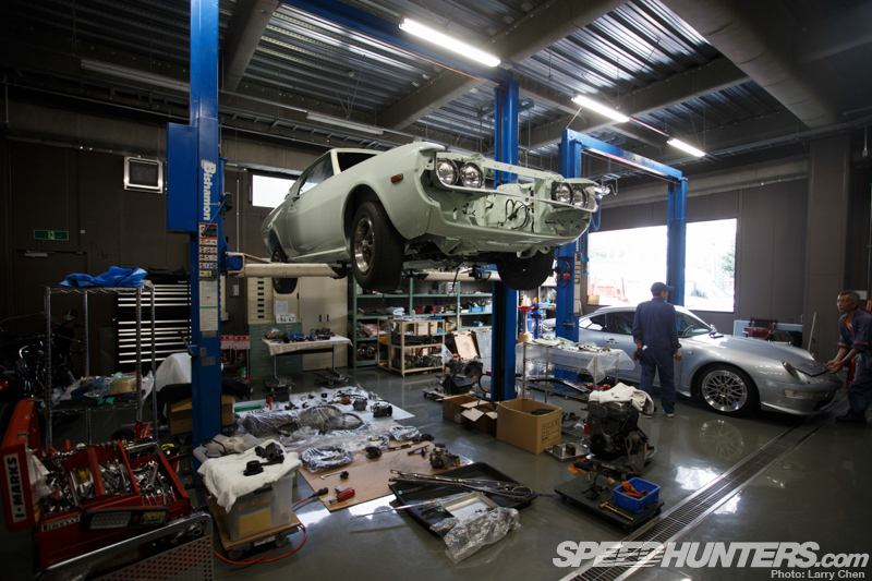 I woke up in the land of the rising sun speedhunters for Garage auto fab ennery