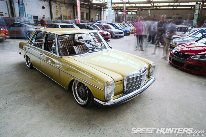 Original Gangster: A Dmpd W115 Benz