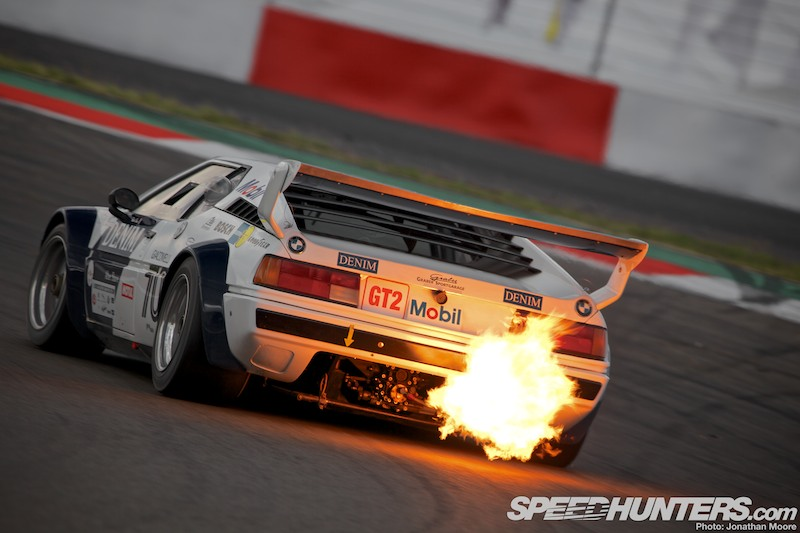 Heaven's On Fire At The Oldtimer Grand Prix