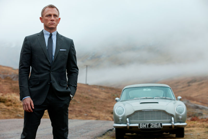 60 Years Of Agent 007 & The Aston Martin