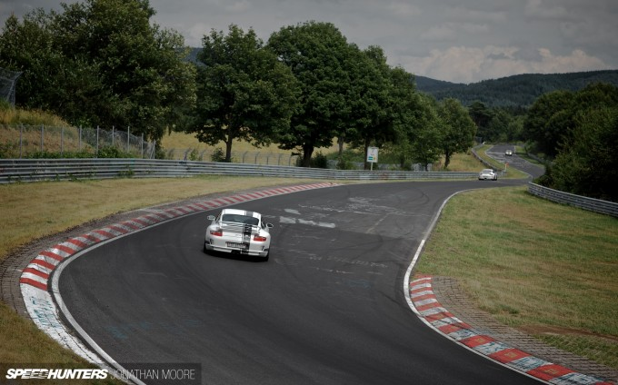 Manthey Racing track day at the Nürburgring Nordschleife, Germany, Wednesday 7 August 2013