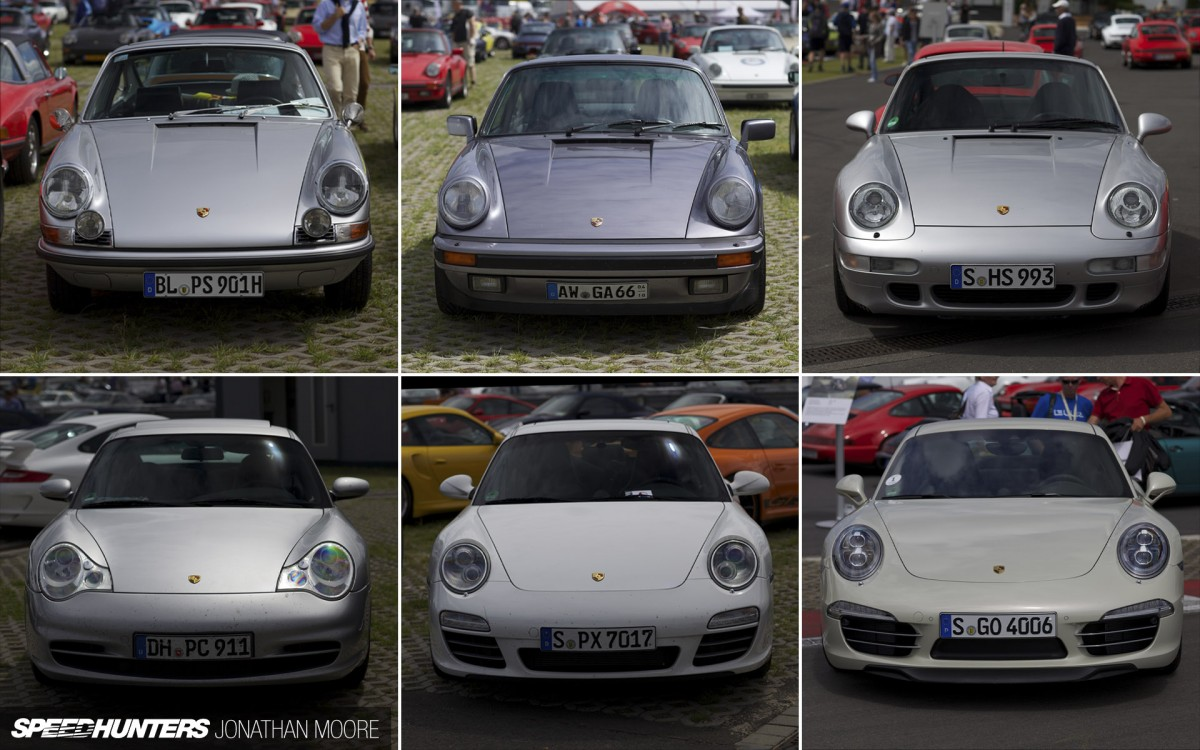 Say You Want an Evolution: 50 Years of 911Design
