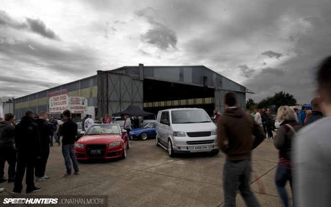 The seventh edition of the Players Show at North Weald airfield in Essex, UK