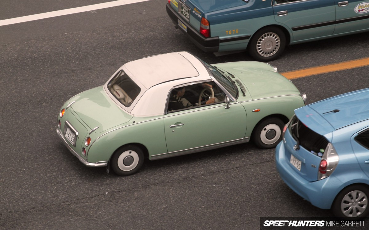 When It Was First Released In The Early 1990s, The Nissan Figaro Was One Of  The Worldu0027s First True Retro Cars. Now More Than 20 Years Later Itu0027s Become  A ... Gallery