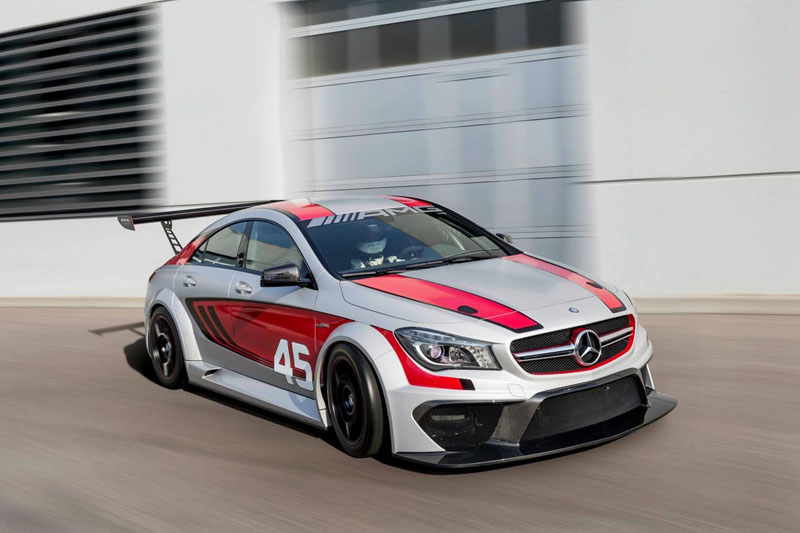 The Cla45 Amg Goes Racing