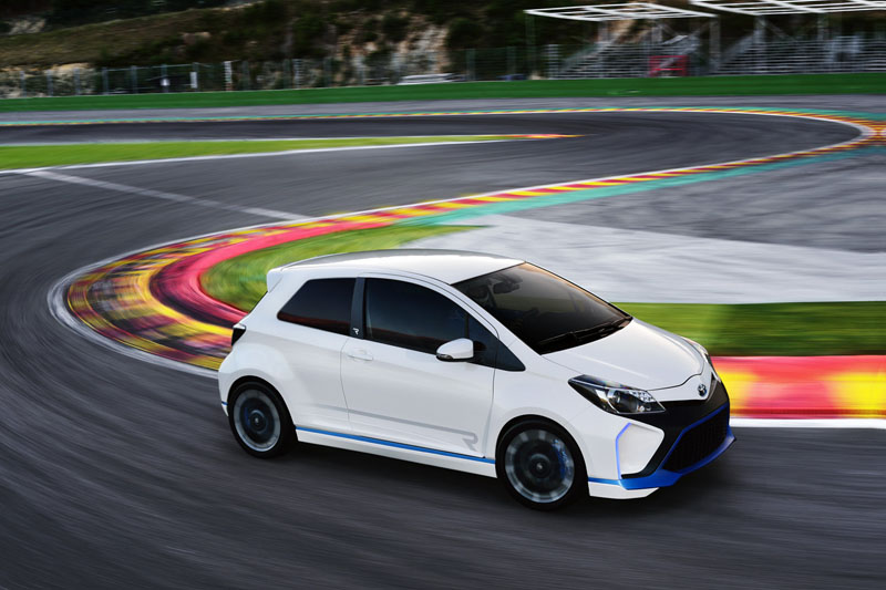 Toyota Builds A 420hp Yaris Hybrid