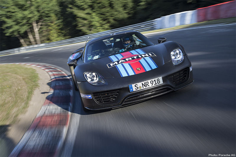 This Spyder Bites: Porsche Set New 'ring Record