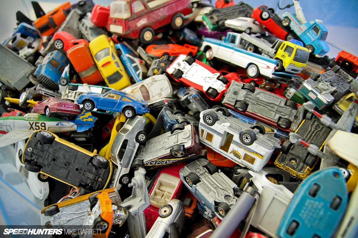 Toys For 2 And Up : Small cars big memories a pile of old toys speedhunters