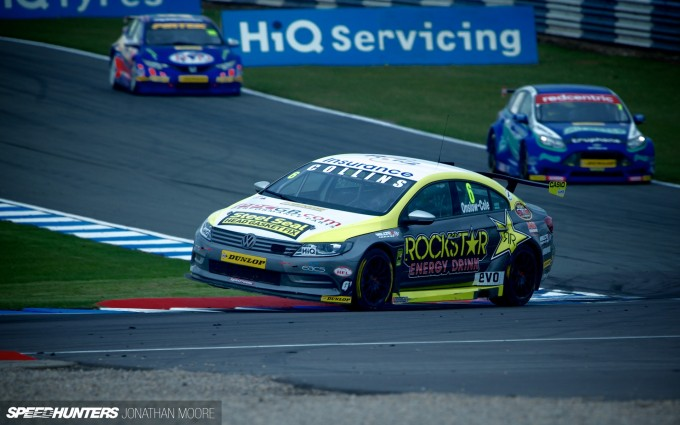 Round 2 of the 2013 British Touring Car Championship, held at the Donington Park circuit in Leicestershire