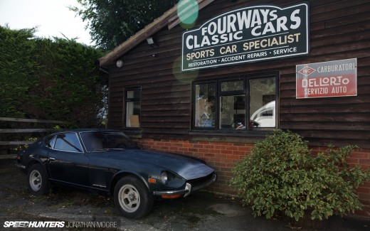 Fourways Engineering, classic sportscar restoration and servicing, specialising in Datsun/Nissan S30s, based in Sevenoaks in the United Kingdom