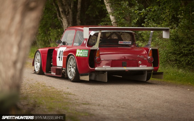 Supercharged Volvo Ford Anglia-1