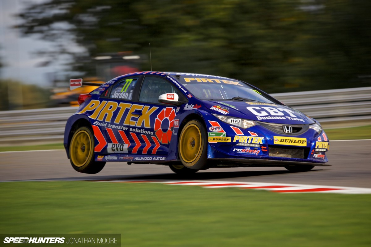 Flying High At The BTCC Finale