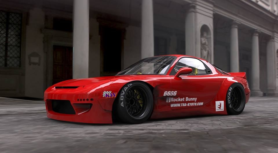Generation Next: </br> The Rocket Bunny x MadMike&nbsp;FD3S