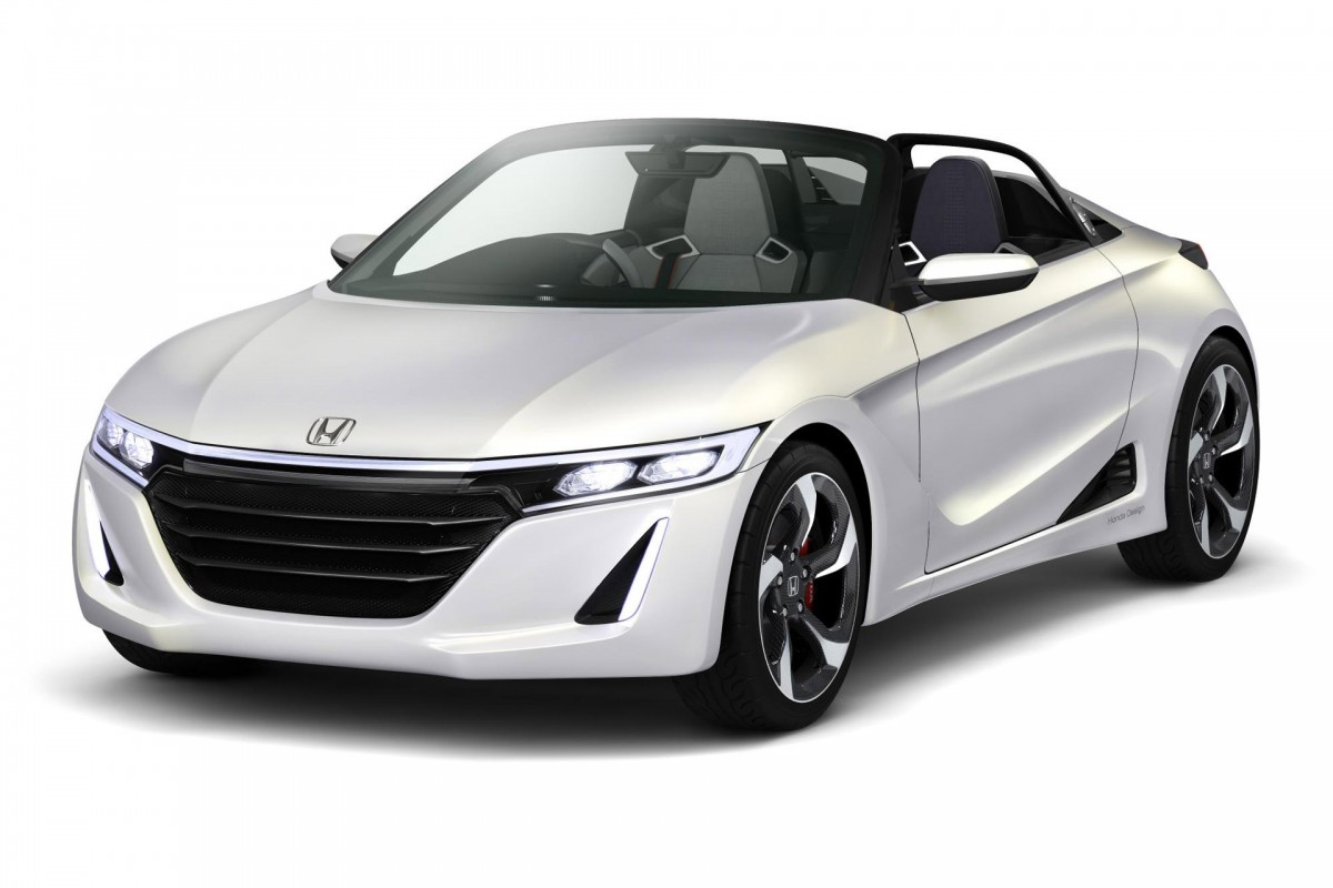 Honda Lightweight Sports: The S660 Concept