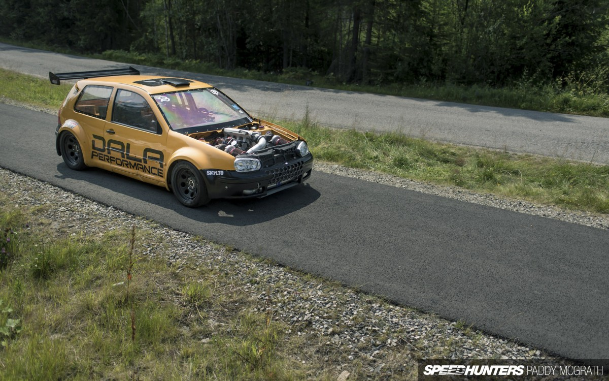Two Turbos, Eight Cylinders:</br>A VW Golf To Decimate&nbsp;All
