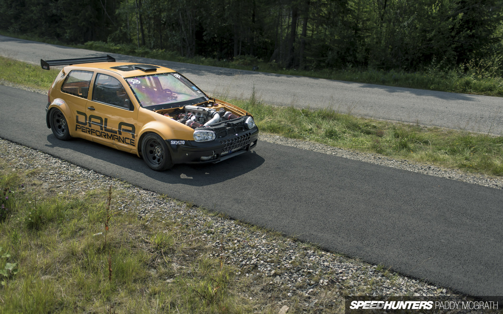 Two Turbos Eight Cylinders A Vw Golf To Decimate All Speedhunters
