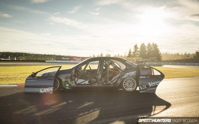 Kandevik Motorsport Mercedes C Class PMcG-37
