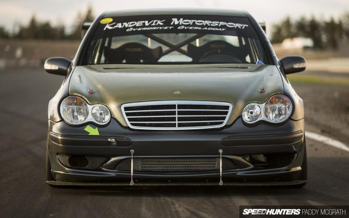 Kandevik Motorsport Mercedes C Class PMcG-50