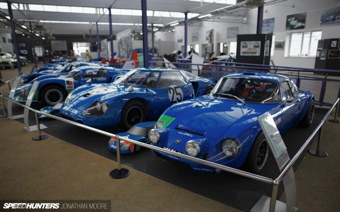 Musée Matra, the museum dedicated to the racing and road car output of French automobile company Matra (Mécanique-Aviation-TRAction)