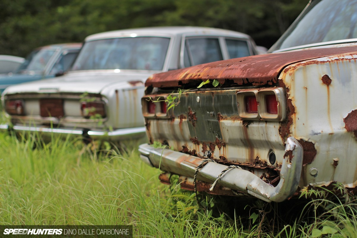 Kyusha Cemetery: Where Old JDM Cars Go To Die - Speedhunters