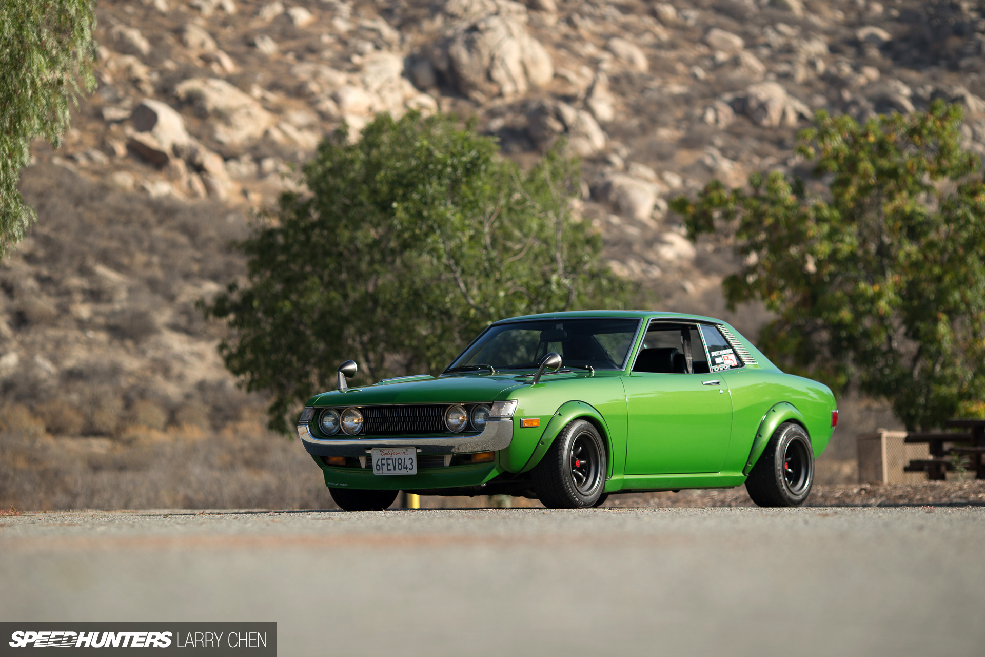 Neo Classic A Turbo Swapped 71 Celica Speedhunters