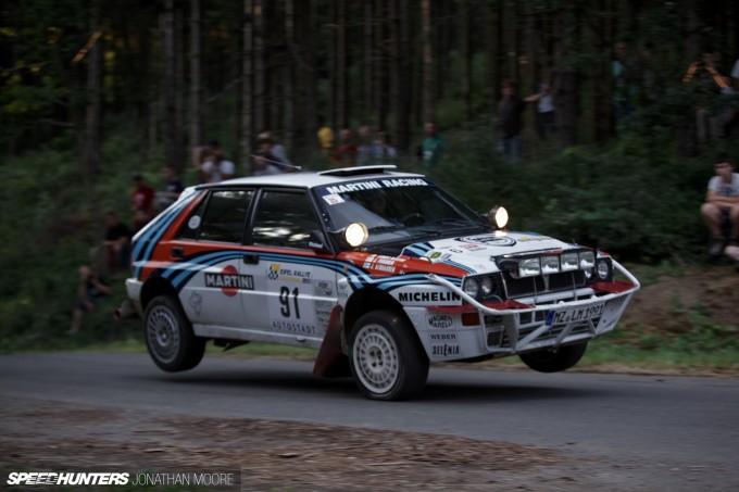 The 2013 Eifel Rallye for historic rally cars