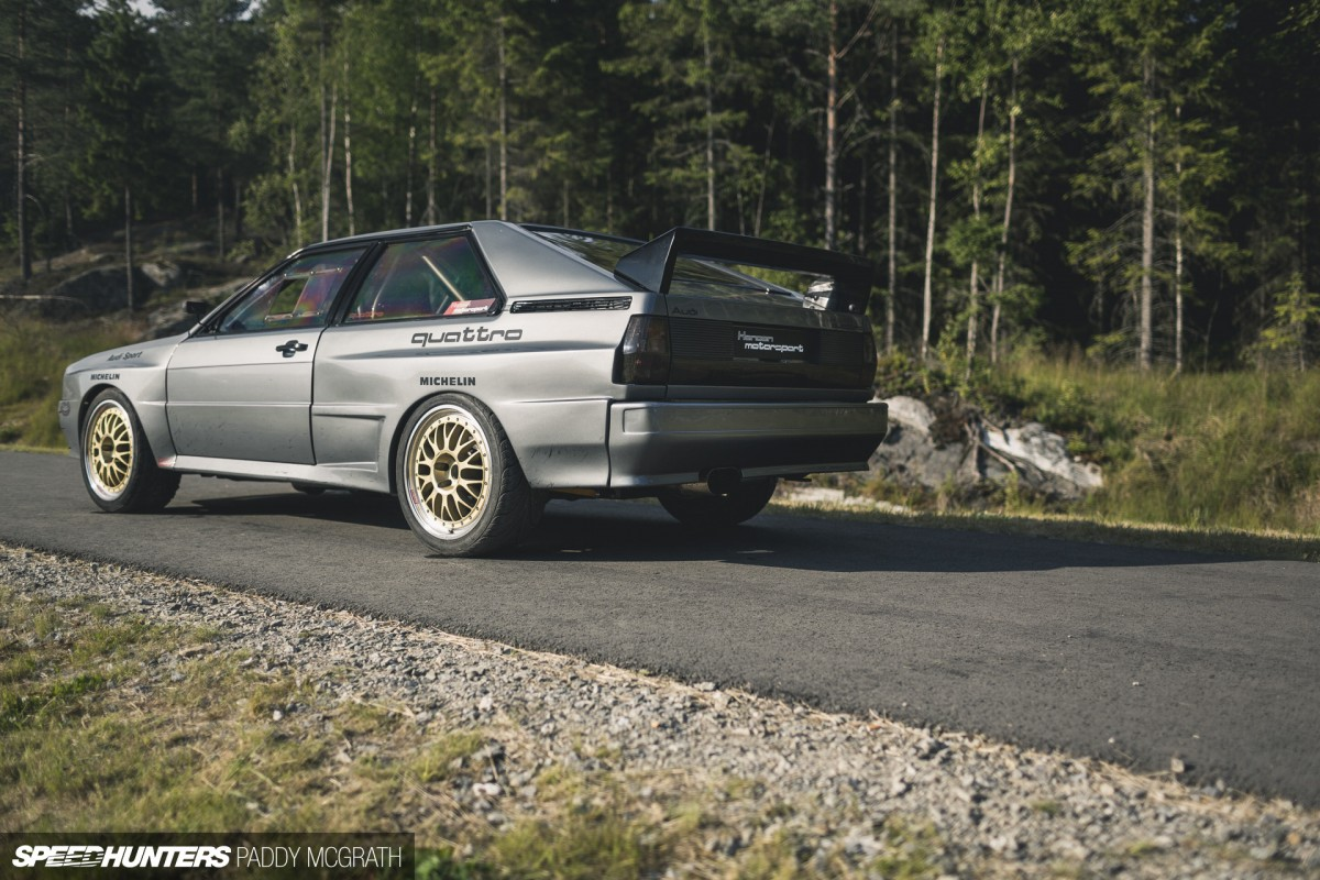 Legend Reborn: The Hansen Motorsport Quattro