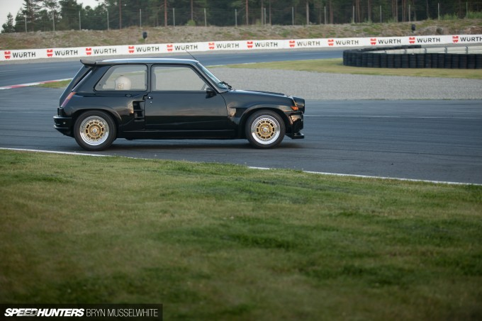 Henrik Renault 5 Turbo 2 Gatebil-2