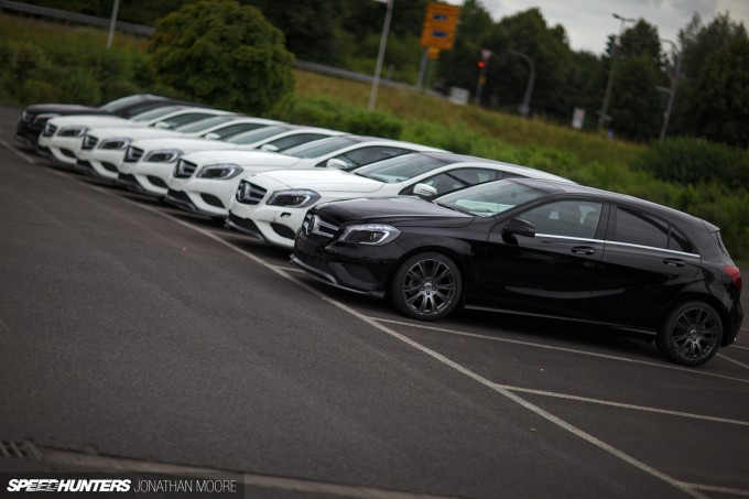 The headquarters and manufacturing facilities of Brabus, specialist tuners of high performance Mercedes-Benz cars