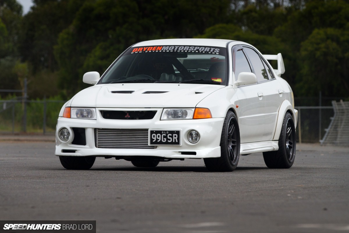 Blurred Lines:</br>An Evo Street Car For The Circuit