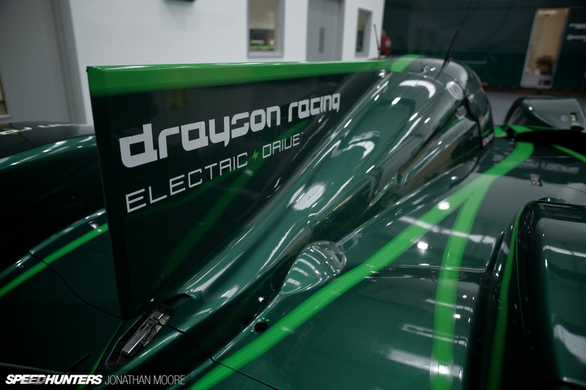 Lord paul drayson and the lola b12 69ev at drayson racing technologies