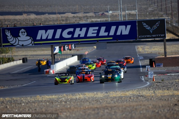 The finale of the 2013 Lotus Cup USA at Spring Mountain Motor Resort And Country Club