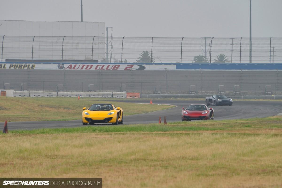 McLaren 12C Spider: Open Top, OpenTrack