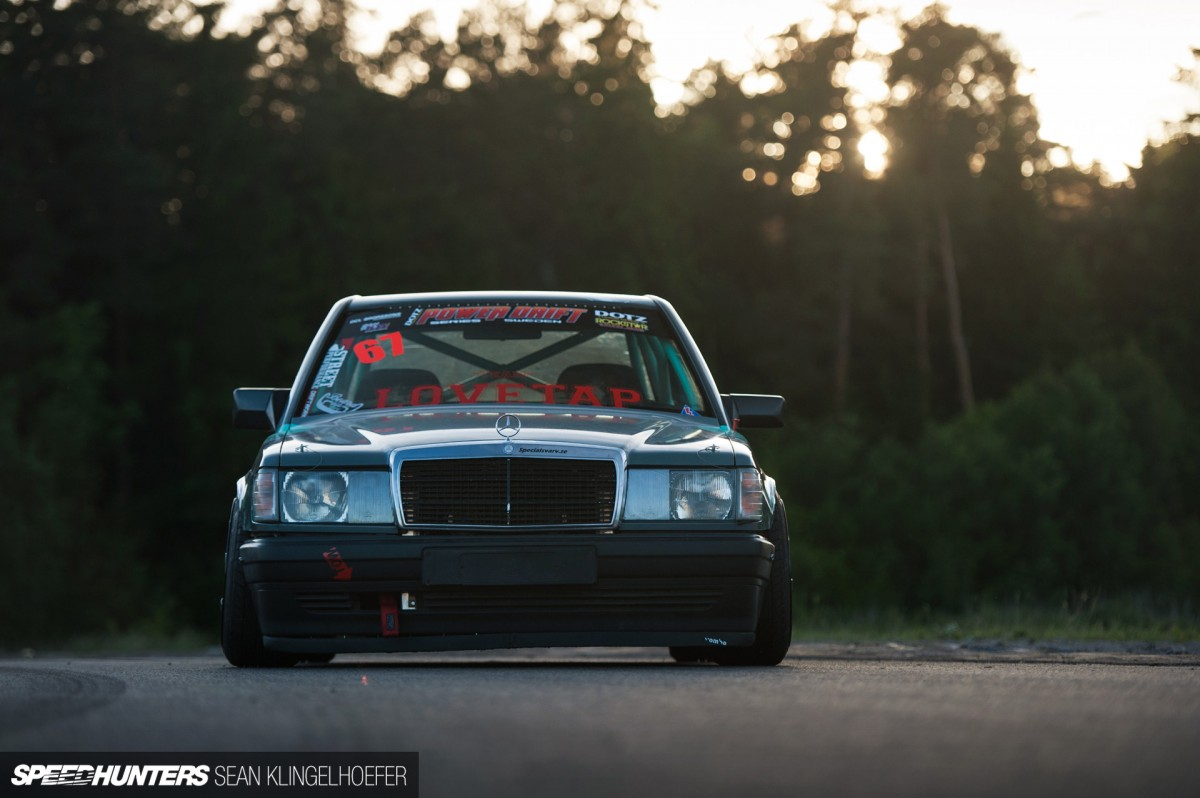 Benz Drift Car >> How To Build A Merc That Drifts Speedhunters