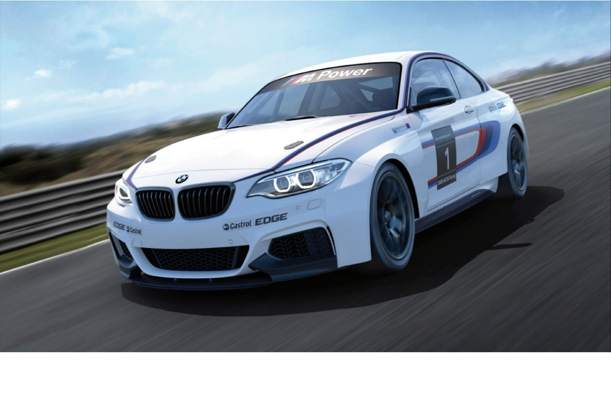 Track-Ready: The BMW 235iRacing