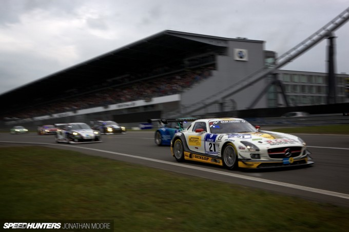 The 2013 running of the Nürburgring 24 hours, May 16-21
